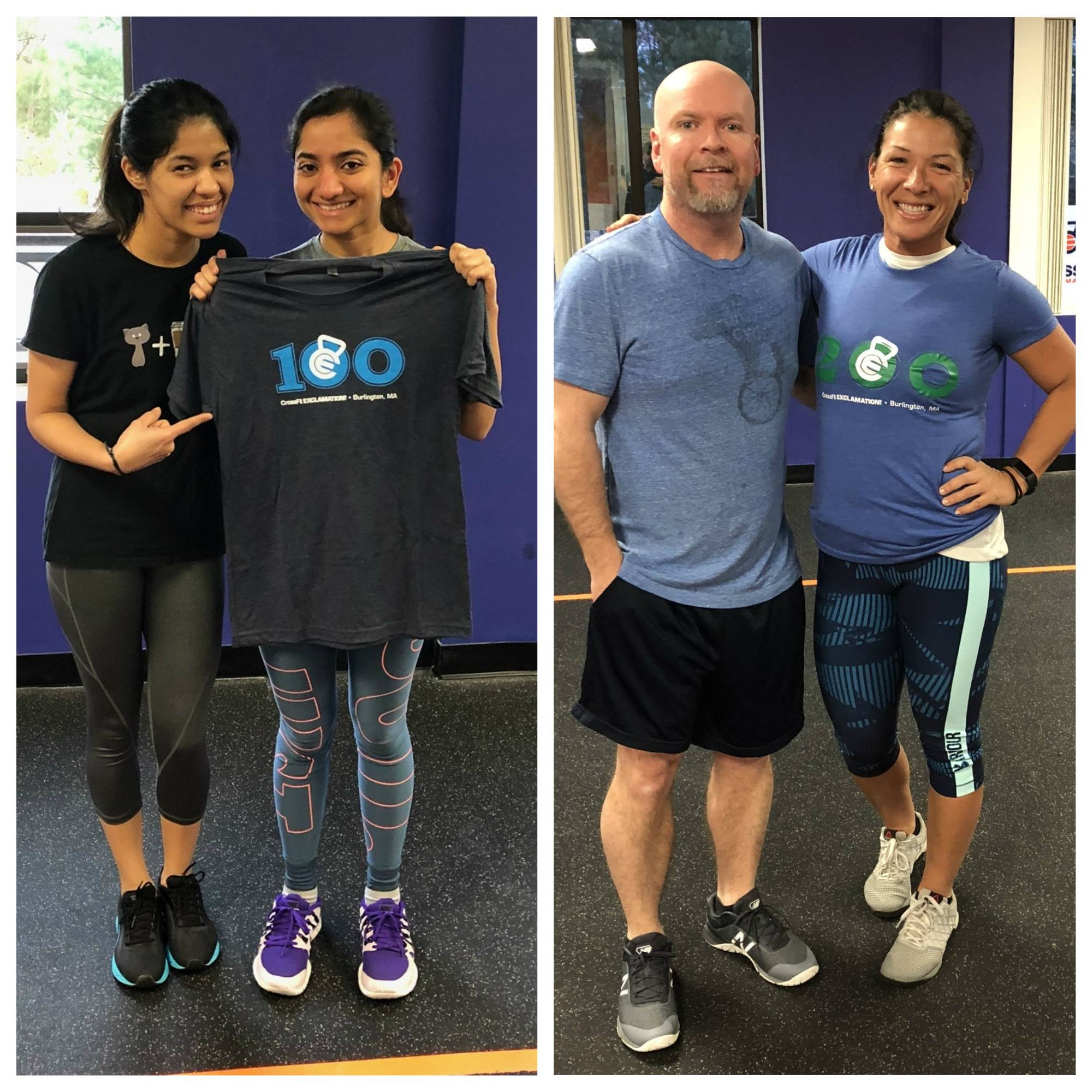These CFE Members Hit 100 And 200 WODs!